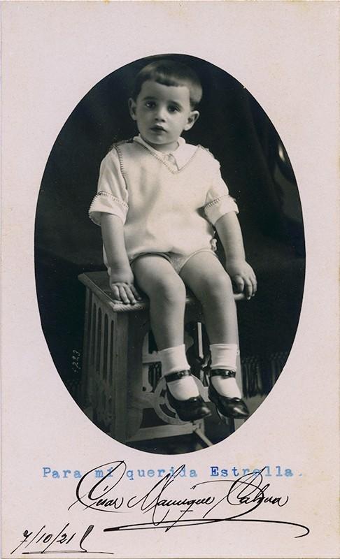 César Manrique de niño II