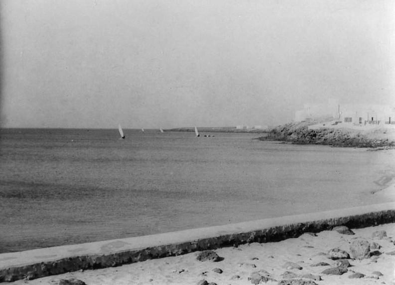 Barcos en Playa Blanca