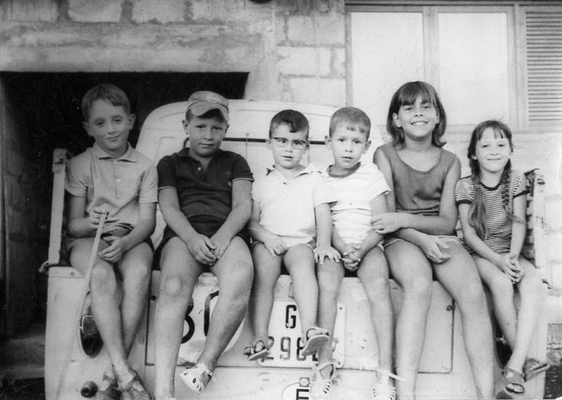 Niños en Playa Honda