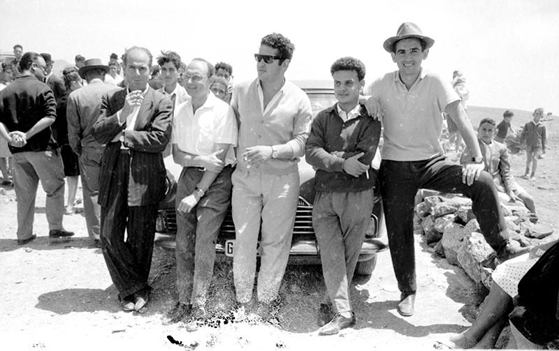 Jóvenes de Haría en Las Nieves