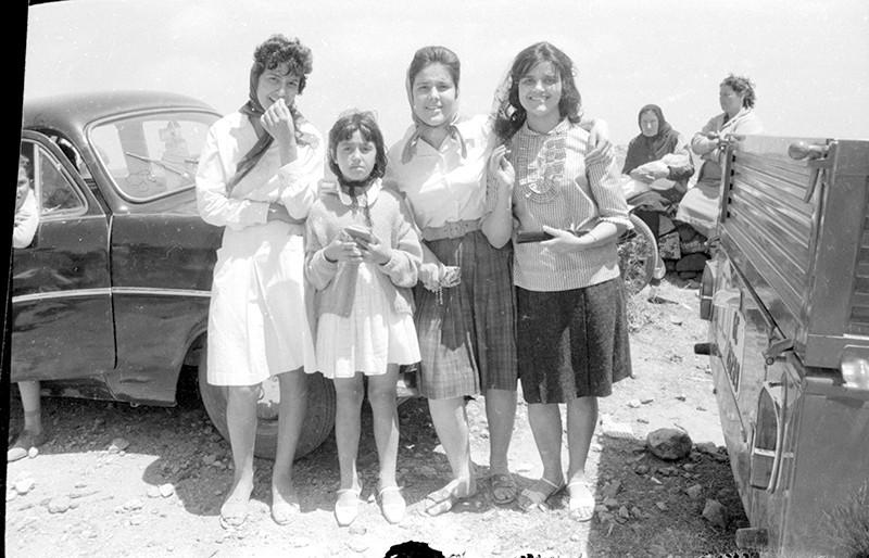 Amigas en Las Nieves