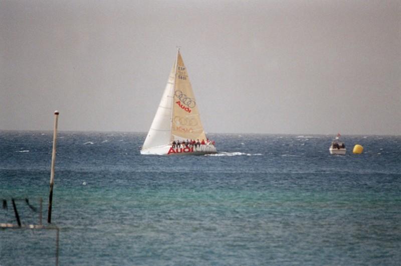 Regata en aguas de Lanzarote