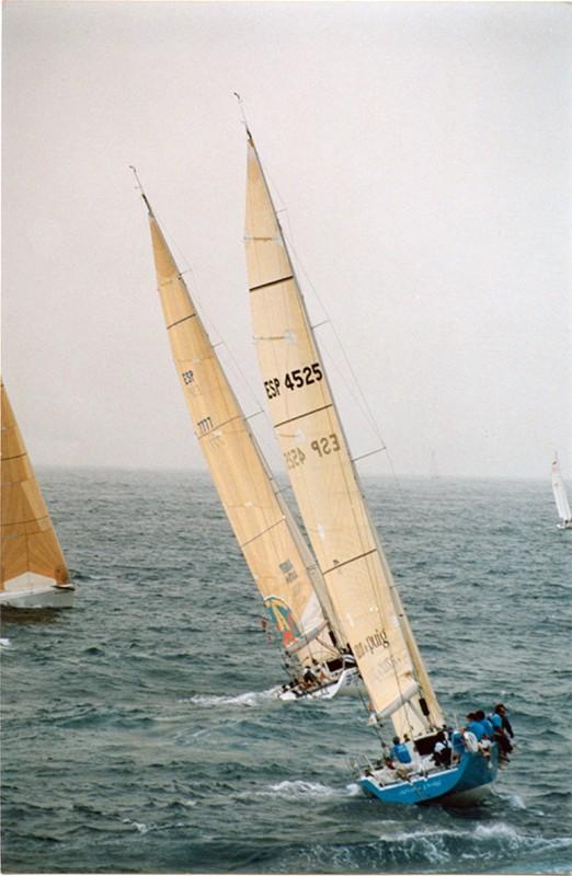 Regata en aguas de Lanzarote II