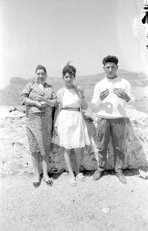 Familia en Las Nieves