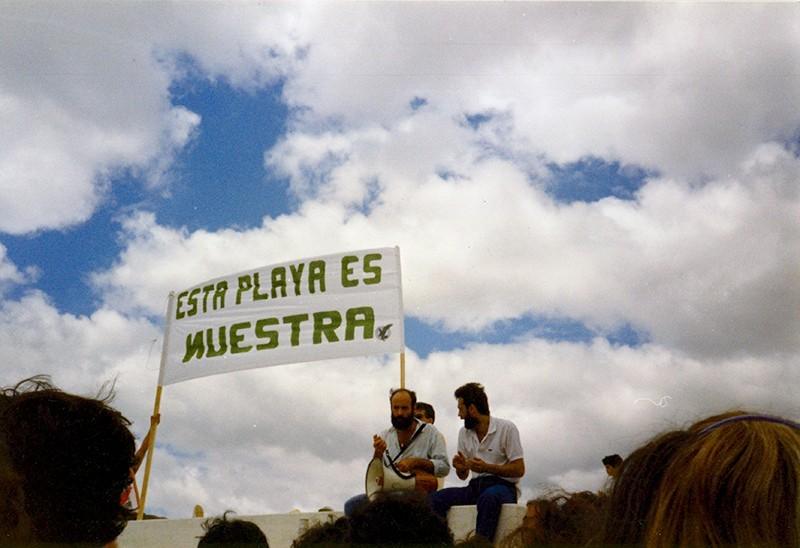 Manifestación en Los Pocillos IV