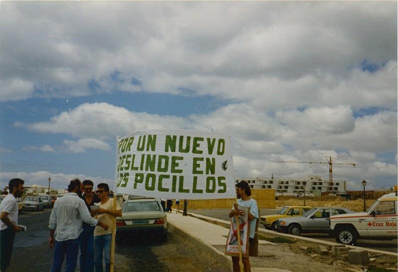 Manifestación en Los Pocillos VIII
