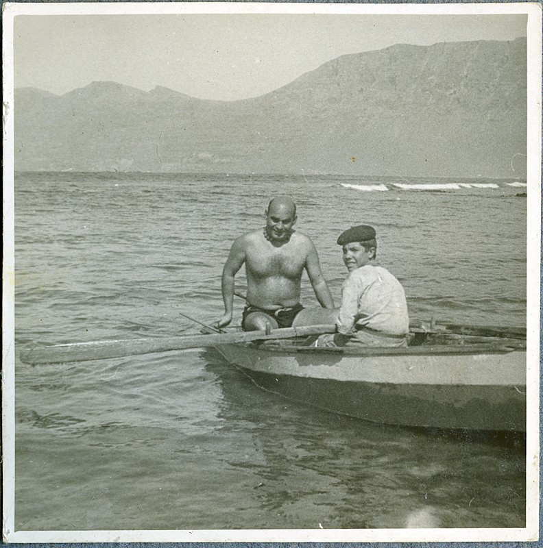 Pescando en La Caleta