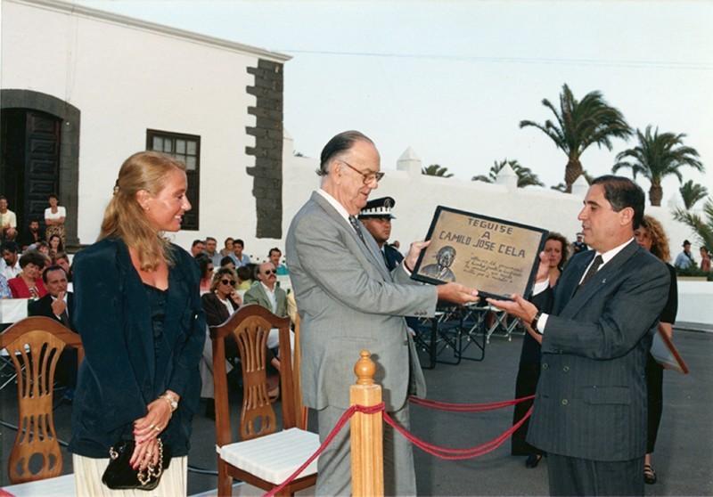 Camilo José Cela en Lanzarote