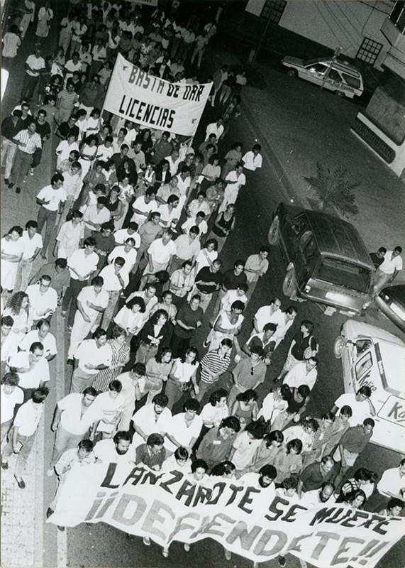 Manifestación de El Guincho II
