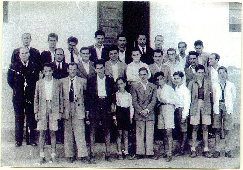 Alumnos de la Escuela de Pesca