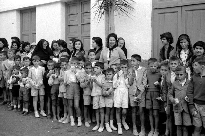 Congregación de niños I