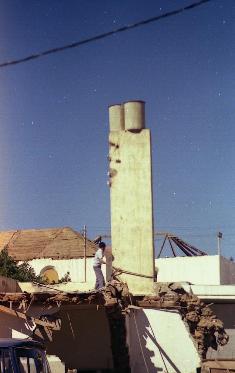 Demolición de la Recova I