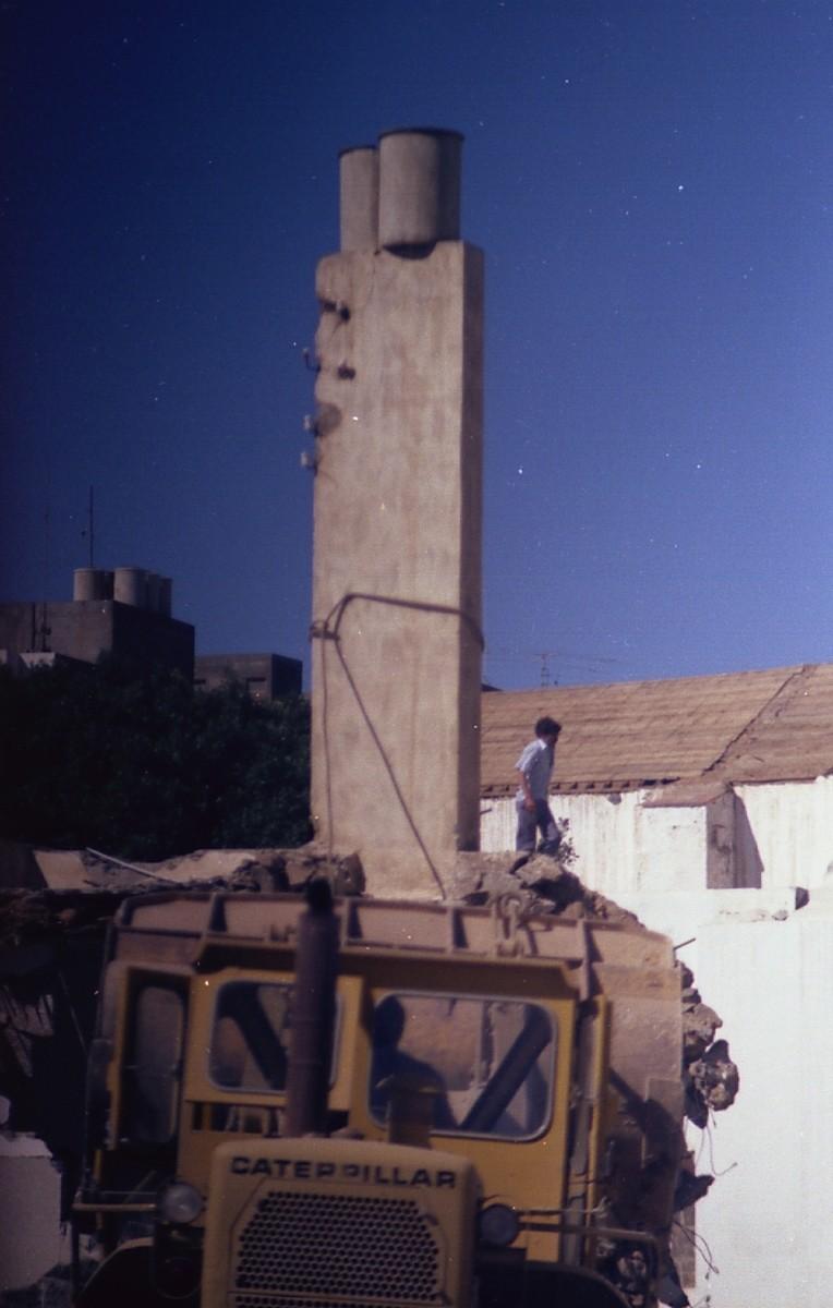 Demolición de la Recova II