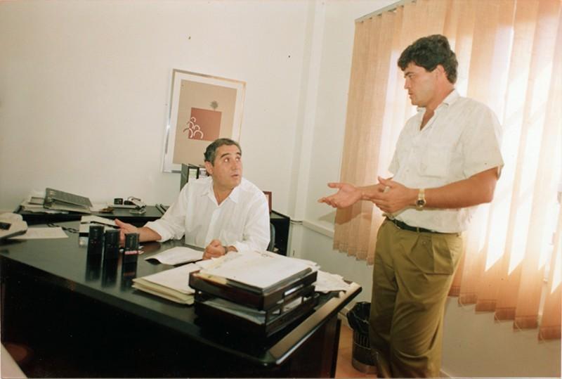Dimas Martín e Higinio Hernández