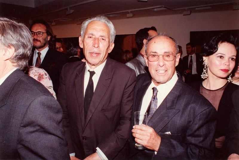 Leandro Perdomo y César Manrique