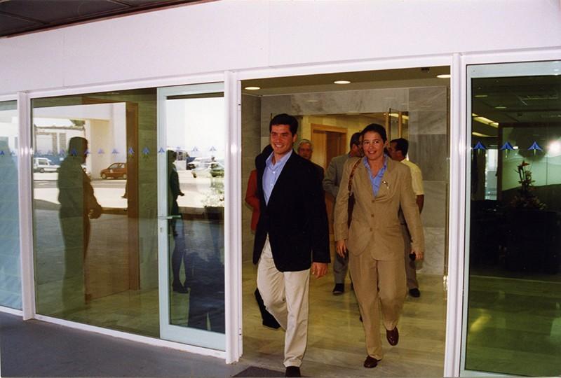 Carlos Morales y Alexia de Grecia IV