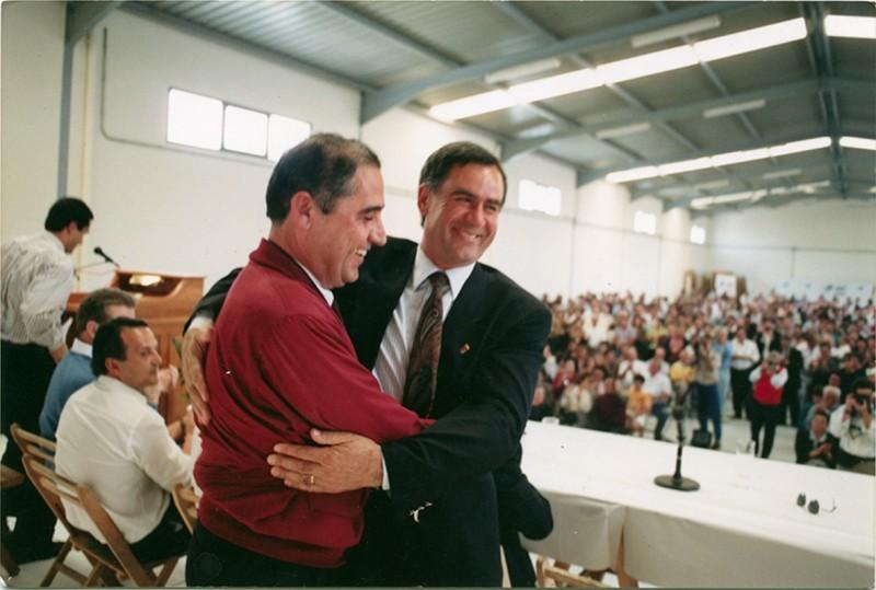 Dimas Martín y Honorio García Bravo