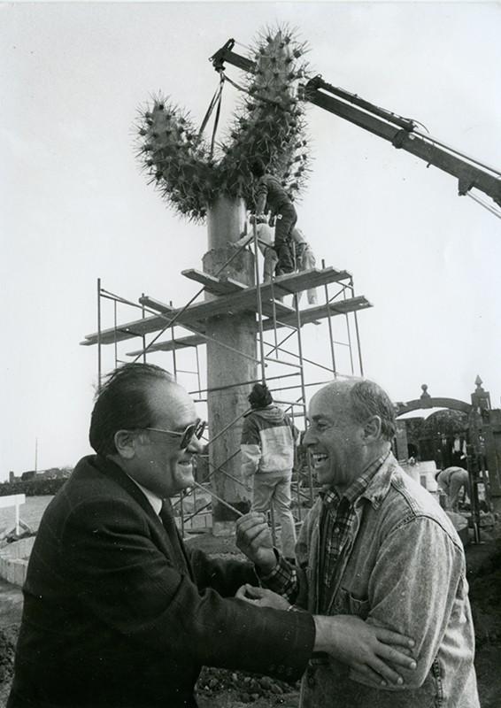 César Manrique y Nicolás de Páiz II