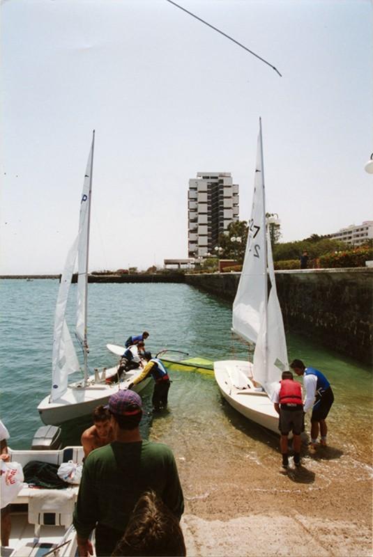 Barcos en Arrecife