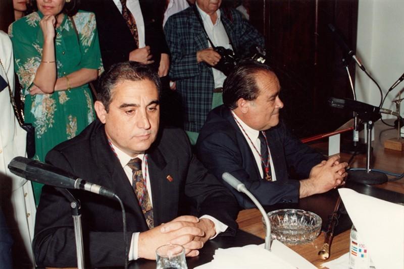 Dimas Martín y Nicolás de Páiz