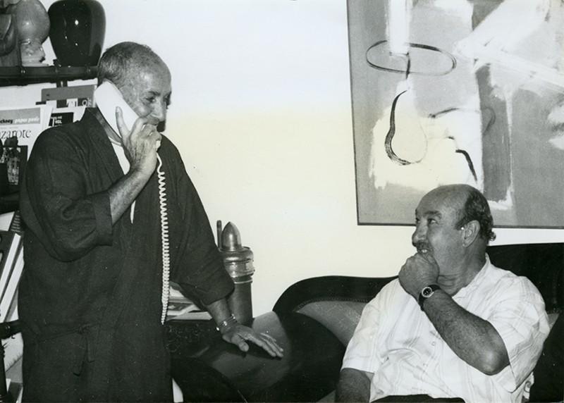 César Manrique y Carlos Manrique