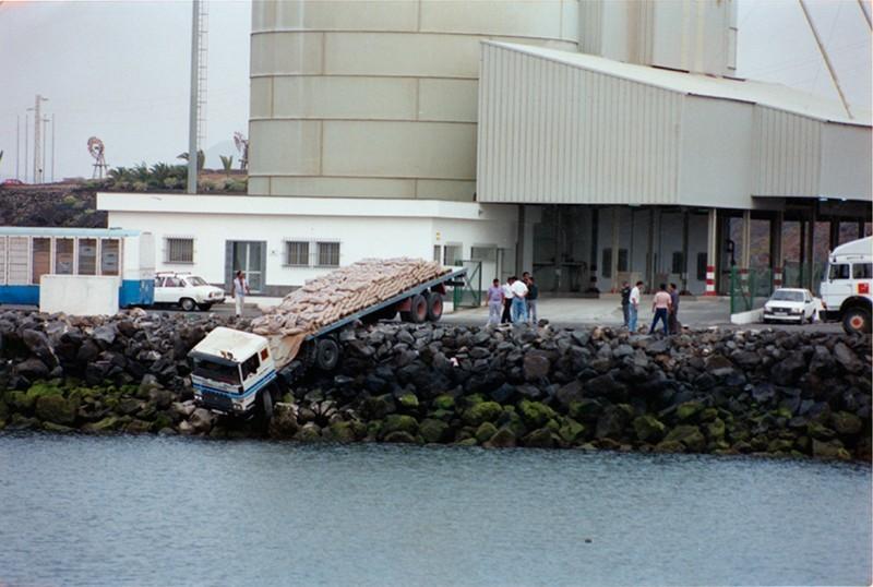 Accidente en el puerto de Los Mármoles
