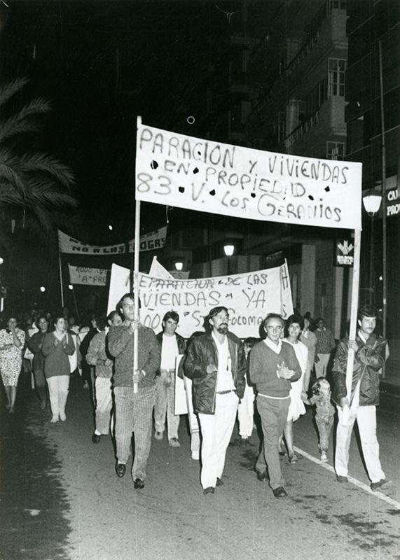 Manifestación por la vivienda