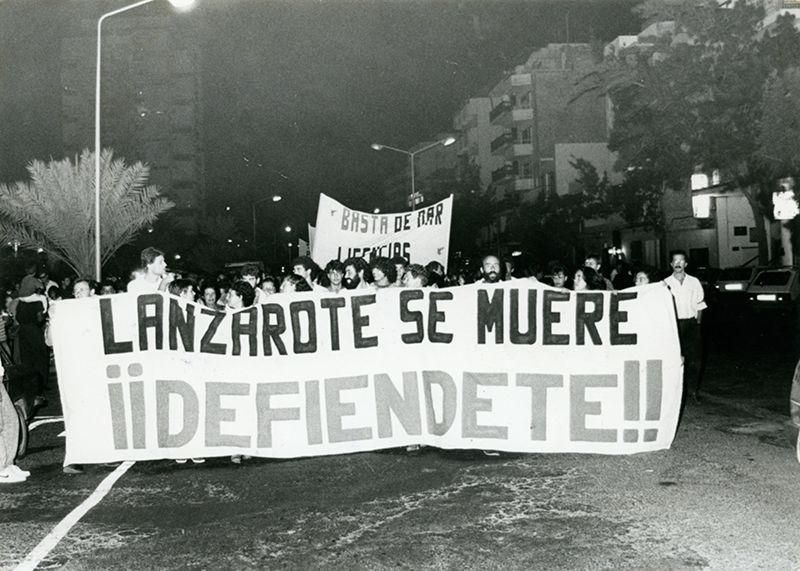 Manifestación de El Guincho III