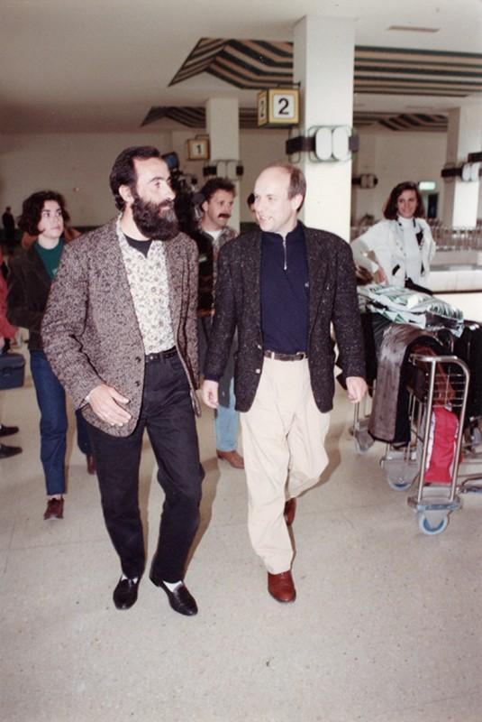 Ildefonso Aguilar y Brian Eno