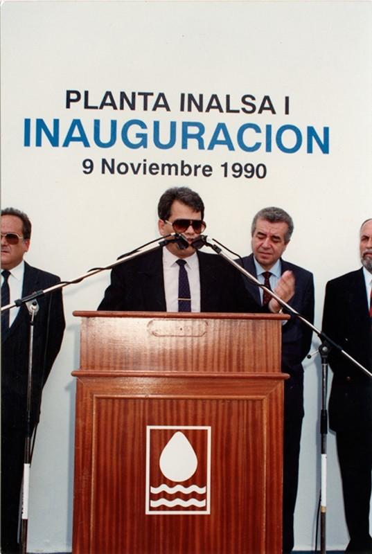 Inauguración de la planta Inalsa I