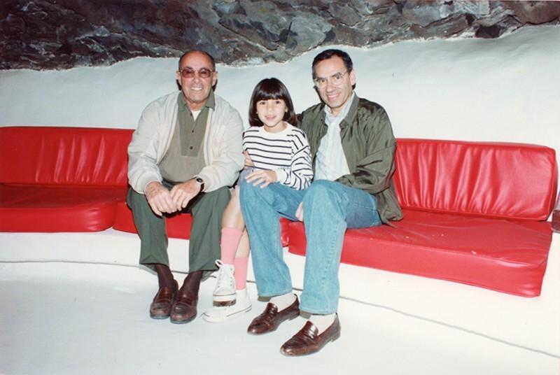 César Manrique y Alfonso Guerra