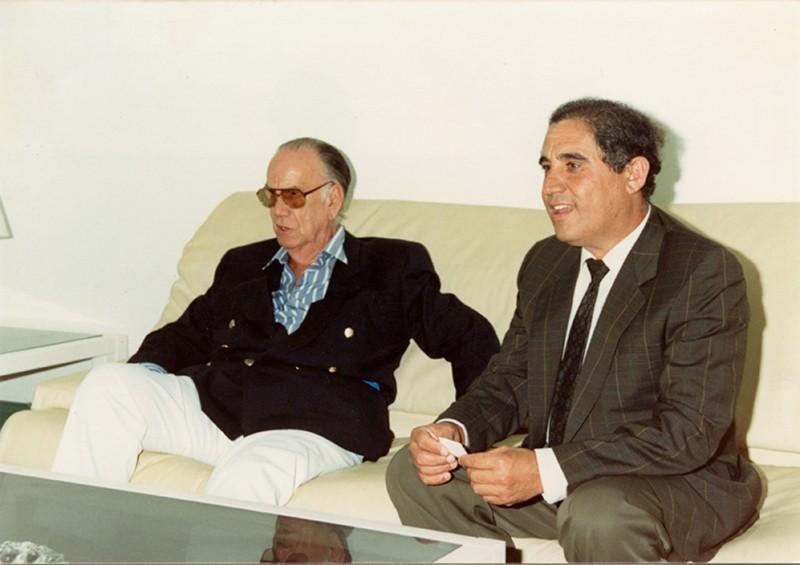 Dimas Martín y Camilo José Cela