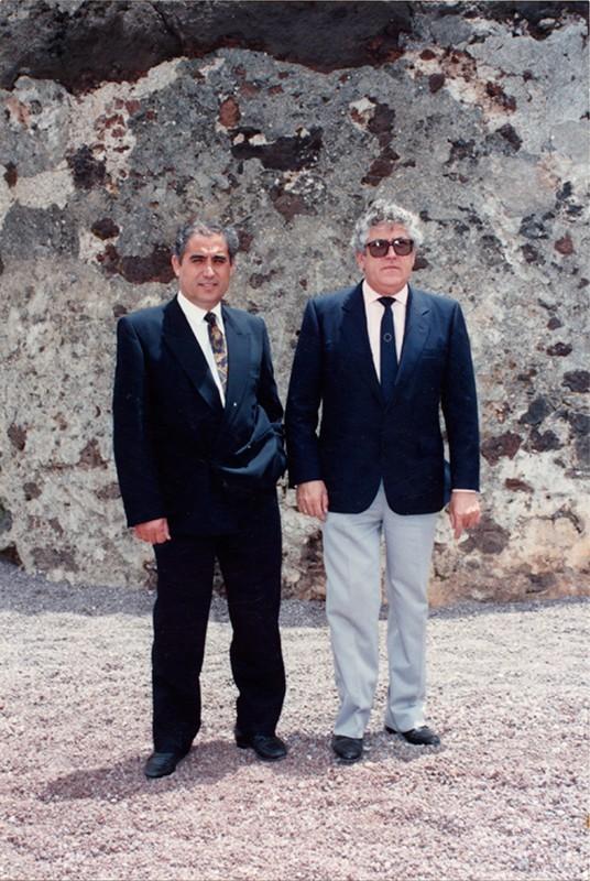 Dimas Martín y Agustín Torres