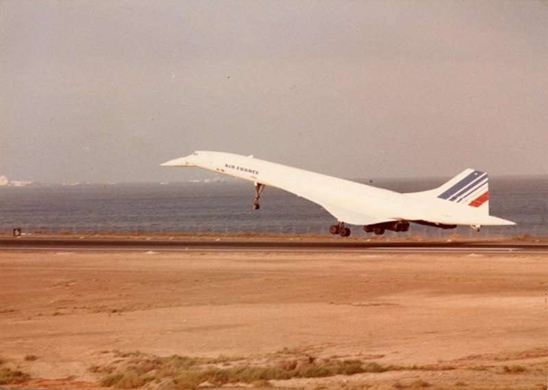 Aterrizaje del Concorde II