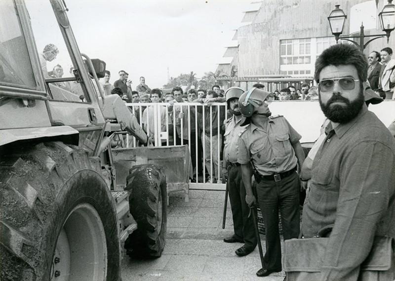 Protestas Aparthotel Fariones
