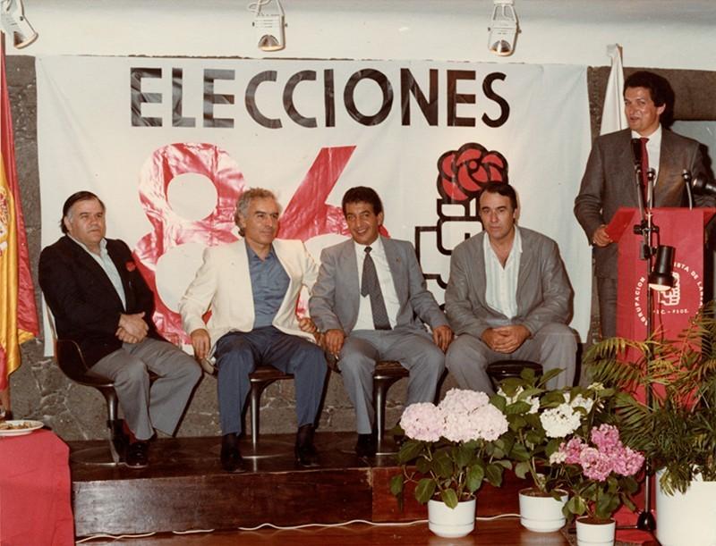 Miembros del Grupo Socialista