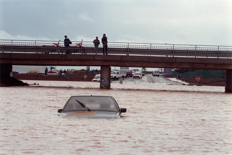 Grandes lluvias en Lanzarote