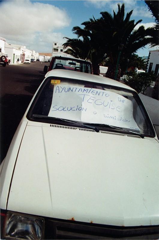 Protestas en Teguise