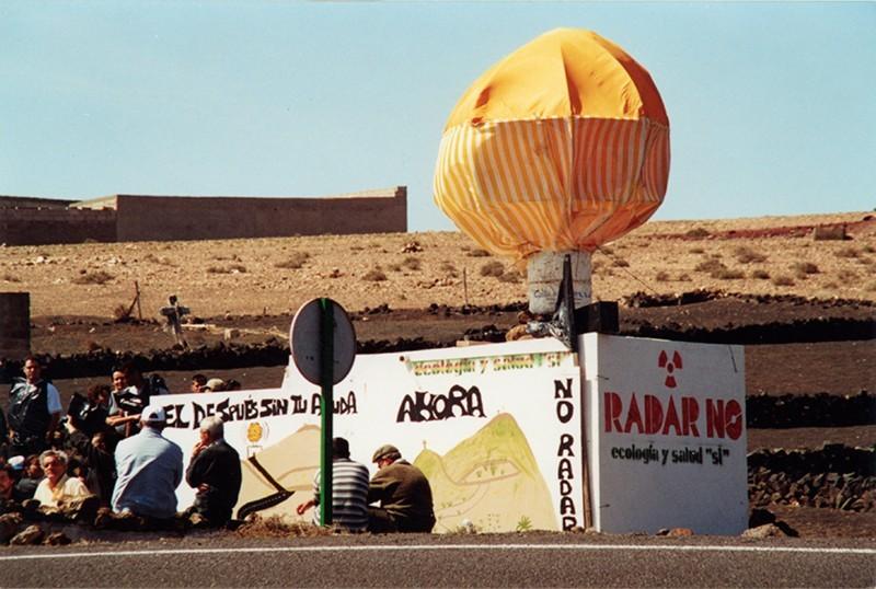 Radar en Montaña Blanca