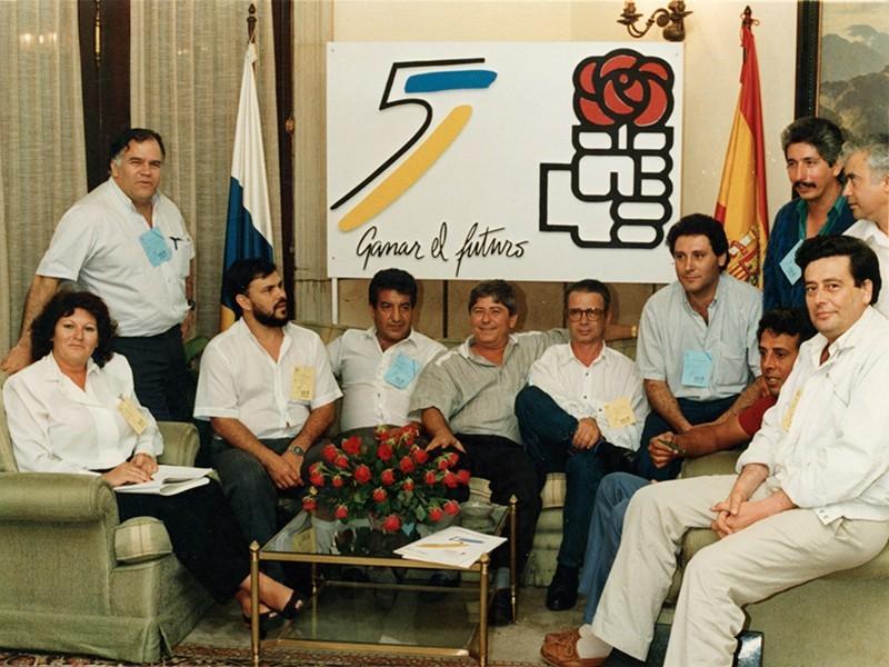 Partido Socialista año 1986