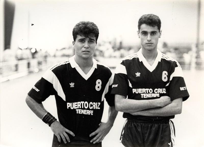 Ambros Martín y Marcos Cedrés
