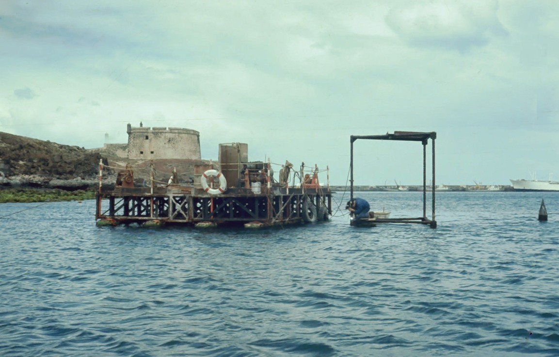 Obras en Puerto Naos IV