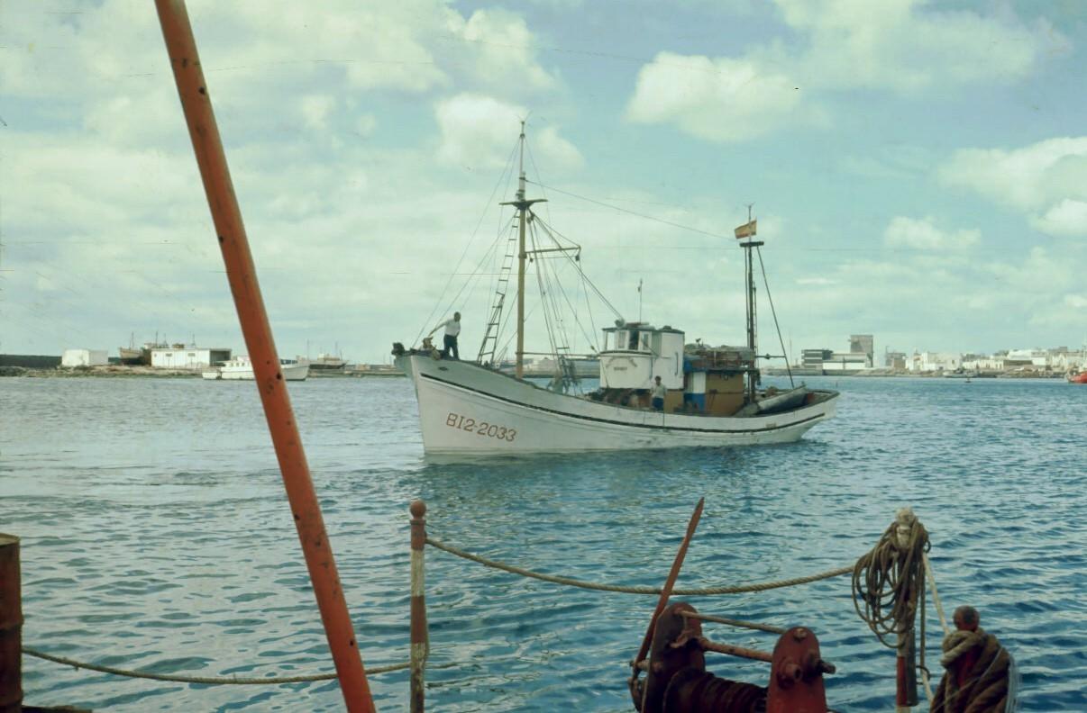 Barco Puerto Naos