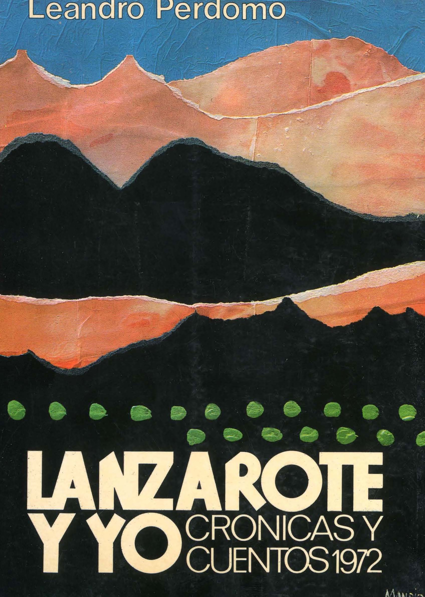 Lanzarote y yo: crónicas y cuentos 1972