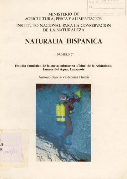 Estudio faunístico de la cueva submarina
