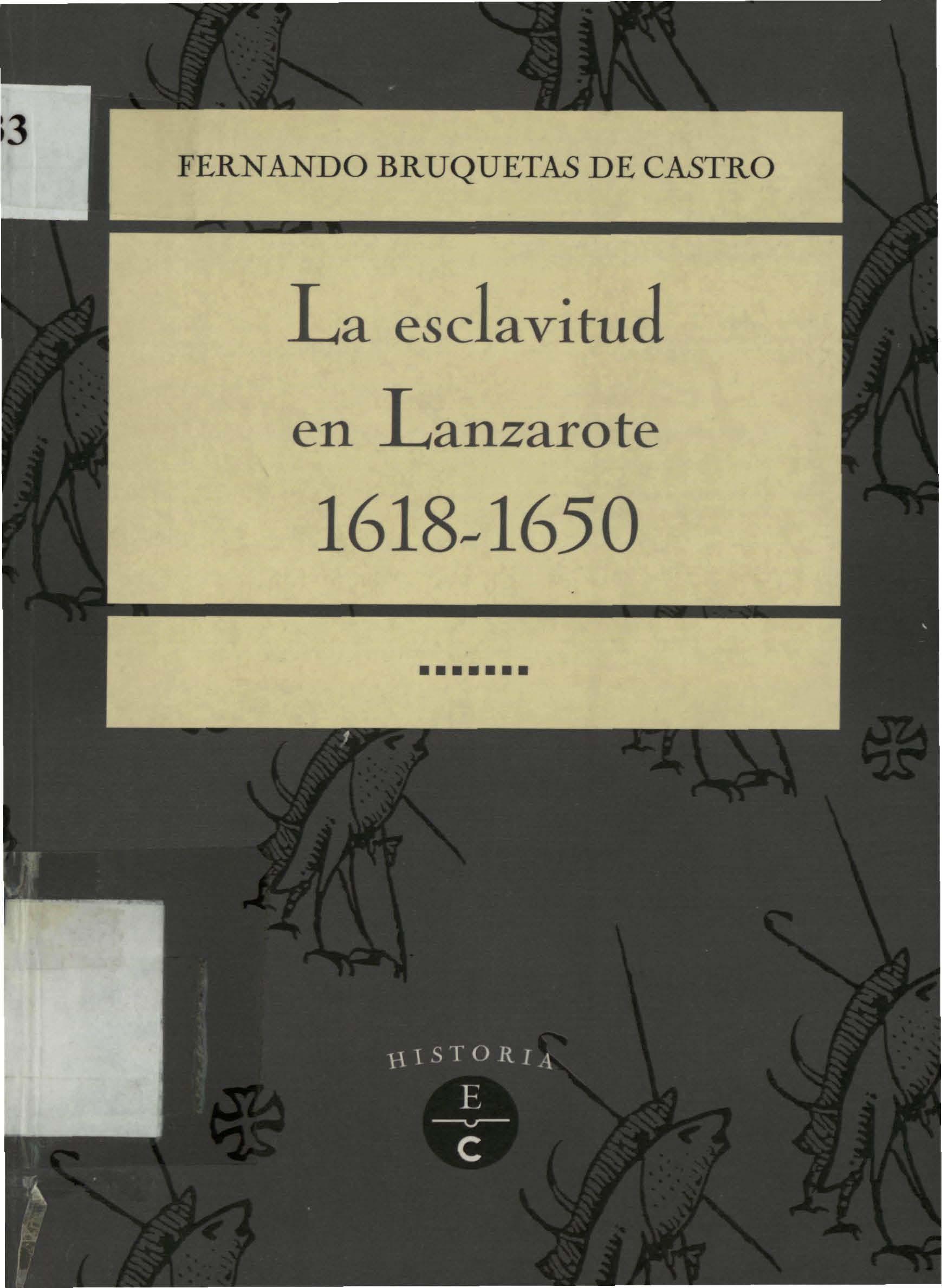 La esclavitud en Lanzarote: 1618-1650