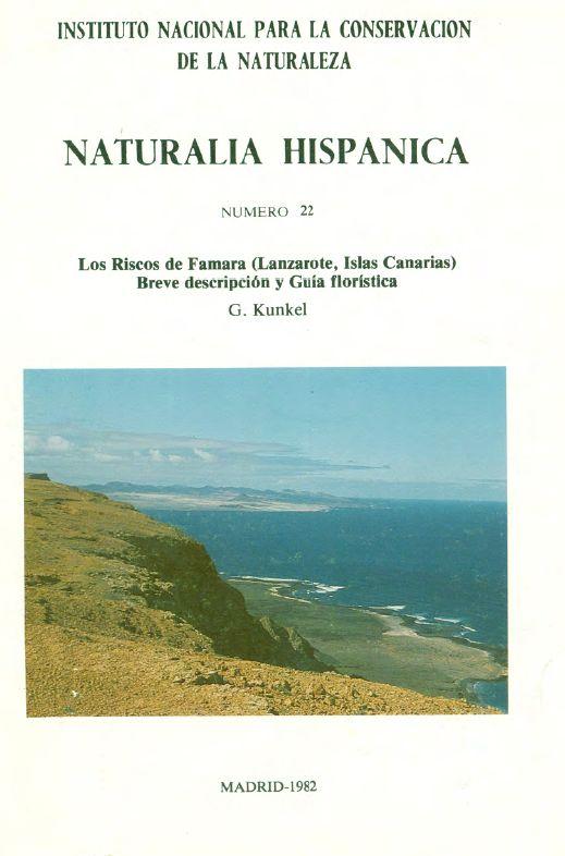 Los riscos de Famara (Lanzarote, Islas Canarias): breve descripción y guía florística