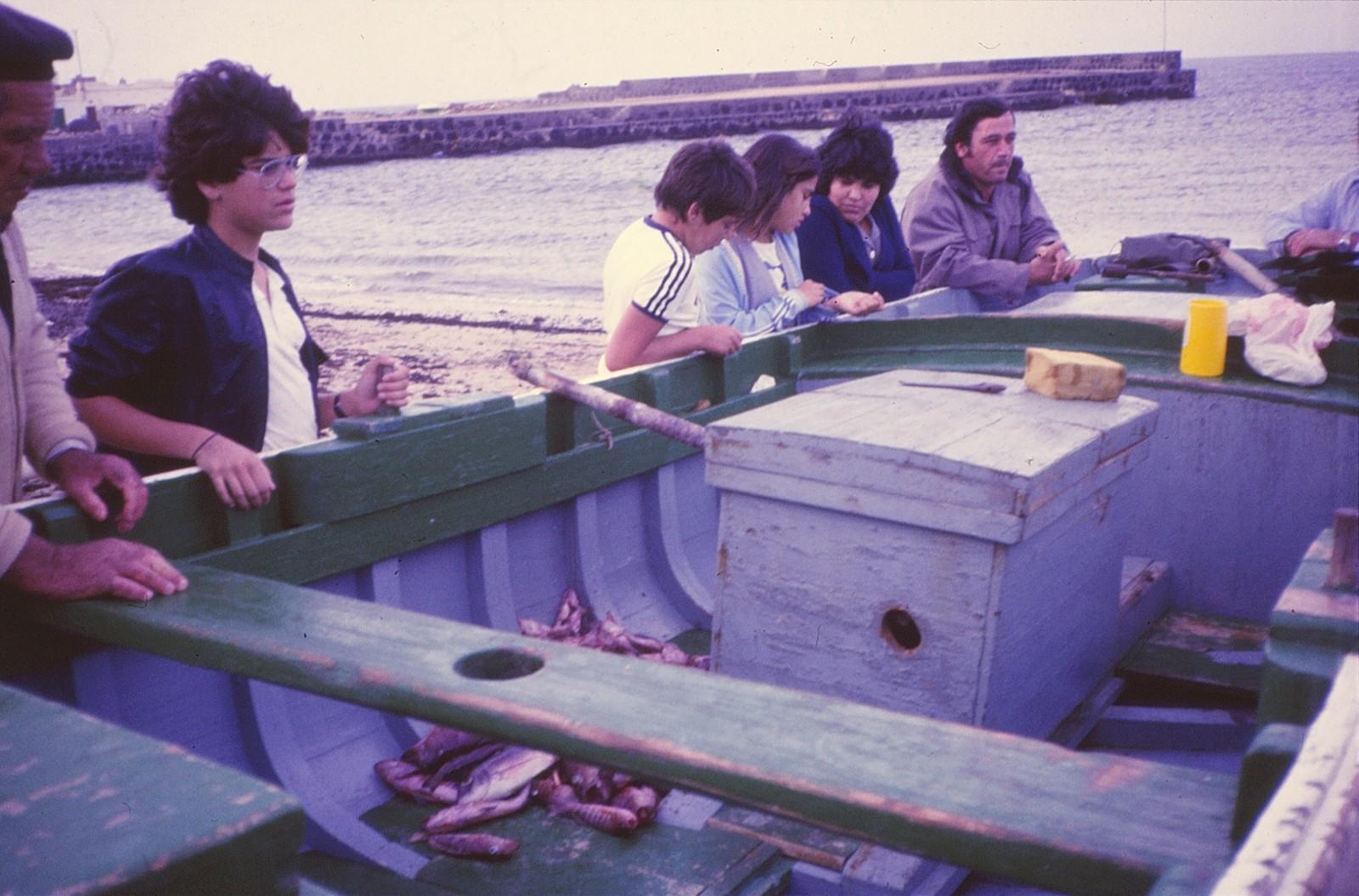 Pesca en La Caleta