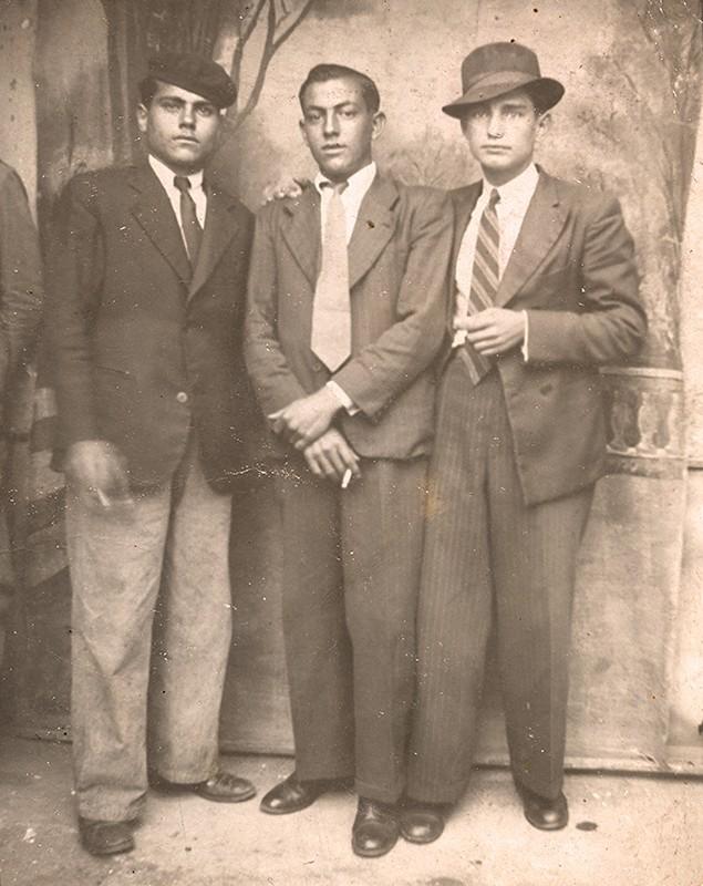 Marcelino García y varios amigos