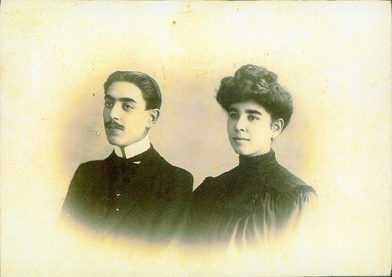 Eugenia y José Perdomo Rocha